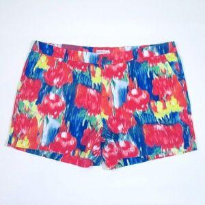 Merona Vivid Ikat Chino Stretch Cotton Shorts